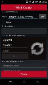 Orux Maps WMS